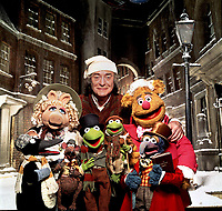 The Muppet Christmas Carol (1992)<br /> Promo shot of Michael Caine<br /> *Filmstill - Editorial Use Only*<br /> CAP/KFS<br /> Image supplied by Capital Pictures