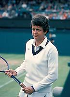 Betty Stove op Wimbledon