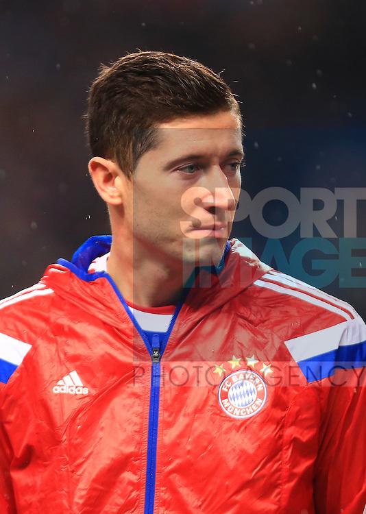 Robert Lewandowski of Munich - Manchester City vs. Bayern Munich - UEFA Champion's League - Etihad Stadium - Manchester - 25/11/2014 Pic Philip Oldham/Sportimage