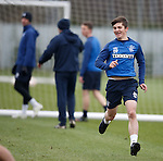 Charlie Telfer now training with the first team today