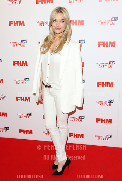 Laura Whitmore arriving for the FHM 100 Sexiest Women in the World 2013 party at the Sanderson Hotel, London. 01/05/2013 Picture by: Henry Harris / Featureflash