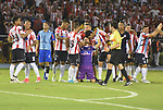 Junior igualó como local 1-1 (2-2 en el global) ante Deportivo Cali. Dieciseisavos de final de la Conmebol Sudamericana. Junior avanzó por penales.
