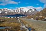 Longyearbyen is the largest settlement and the administrative center of Svalbard, Norway. As of 2008, the town had a population of 2,040, Norway, Svalbard