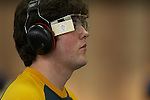 Australia's Sebastian Hume finishes 22nd in the qualifying round of the Men's P1 10m Air Pistol competition at the Beijing Paralympic Games, his first Paralympic competition..