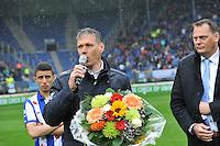 VOETBAL: HEERENVEEN: ABE LENSTRA STADION: 19-10-2013, SC Heerenveen - FC Utrecht, uitslag 4-1, afscheid Marco van Basten, ©foto Martin de Jong
