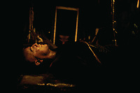 Apocalypse Now (1979)<br /> Marlon Brando<br /> *Filmstill - Editorial Use Only*<br /> CAP/KFS<br /> Image supplied by Capital Pictures