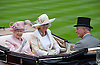 QUEEN, CAMILLA, DUCHESS OF CORNWALL AND PRINCE CHARLES<br /> on the opening day of Royal Ascot 2013, Ascot Racecourse, Ascot_18/06/2013<br /> Mandatory Credit Photo: &copy;Dias/NEWSPIX INTERNATIONAL<br /> <br /> **ALL FEES PAYABLE TO: &quot;NEWSPIX INTERNATIONAL&quot;**<br /> <br /> IMMEDIATE CONFIRMATION OF USAGE REQUIRED:<br /> Newspix International, 31 Chinnery Hill, Bishop's Stortford, ENGLAND CM23 3PS<br /> Tel:+441279 324672  ; Fax: +441279656877<br /> Mobile:  07775681153<br /> e-mail: info@newspixinternational.co.uk