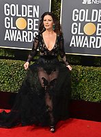 Catherine Zeta-Jones at the 75th Annual Golden Globe Awards at the Beverly Hilton Hotel, Beverly Hills, USA 07 Jan. 2018<br /> Picture: Paul Smith/Featureflash/SilverHub 0208 004 5359 sales@silverhubmedia.com