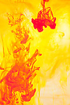 Red and yellow abstract