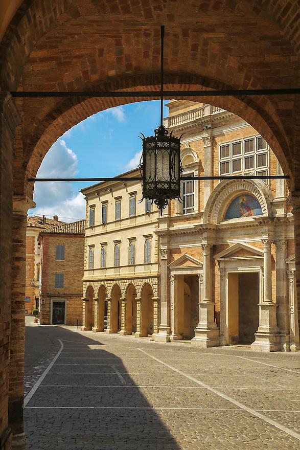 Offida in Italy