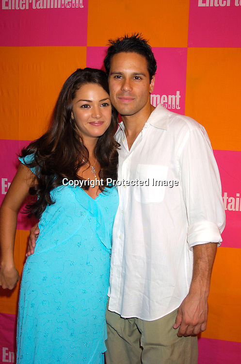 """Paula Garces and husband Antonio Fernandez ..at The Entertainment Weekly's """"The Must List"""" party at ..Crobar in New York City on June 17, 2004. ..Photo by Robin Platzer, Twin Images"""