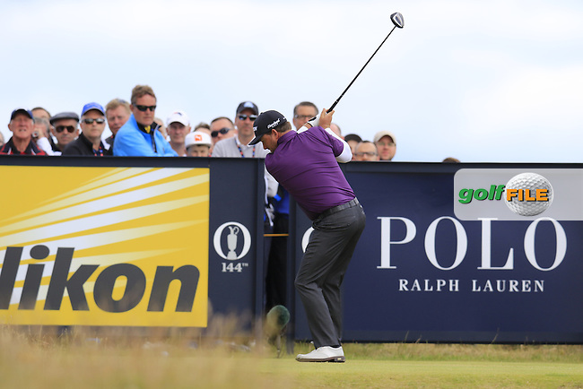 Graeme McDOWELL (NIR) walks off the 15th tee during Sunday's Round  of the 144th Open Championship, St Andrews Old Course, St Andrews, Fife, Scotland. 19/07/2015.<br /> Picture Eoin Clarke, www.golffile.ie