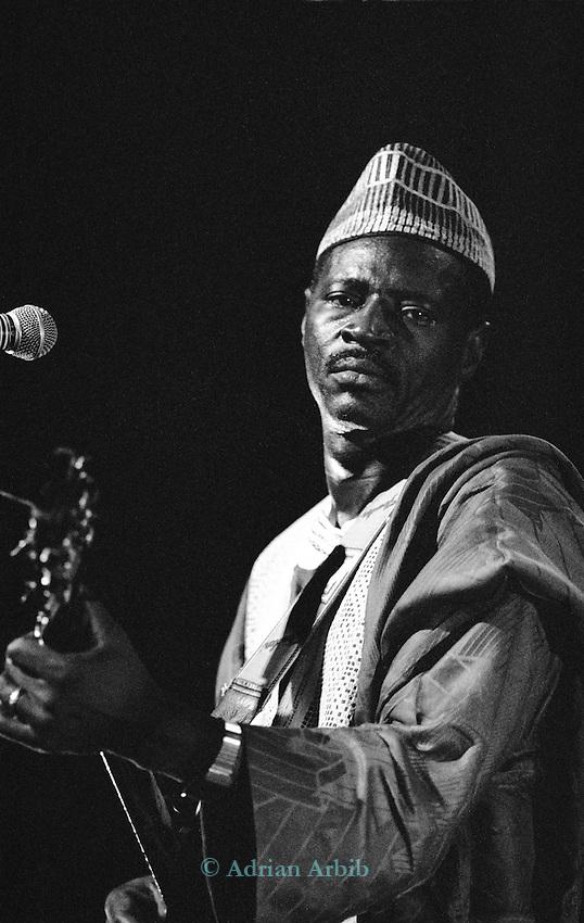 Ali Farka Toure playing the Hackney Empire, London 1991.