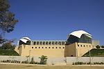 Israel, Tel Aviv. The Yitzhak Rabin Center designed by Moshe Safdie
