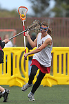 Santa Barbara, CA 02/19/11 - Anna Ponting (Stanford #5) in action during the Stanford - Minnesota-Duluth game at the 2011 Santa Barbara Shootout.