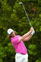Tommy Fleetwood (ENG) watches his tee shot on 12 during round 3 of the 2019 US Open, Pebble Beach Golf Links, Monterrey, California, USA. 6/15/2019.<br /> Picture: Golffile | Ken Murray<br /> <br /> All photo usage must carry mandatory copyright credit (© Golffile | Ken Murray)