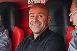 05.10.2019, BayArena, Leverkusen, GER, 1. FBL, Bayer 04 Leverkusen vs. RB Leipzig,<br />  <br /> DFL regulations prohibit any use of photographs as image sequences and/or quasi-video<br /> <br /> im Bild / picture shows: <br /> Peter Bosz Trainer / Headcoach (Bayer 04 Leverkusen),<br /> <br /> Foto © nordphoto / Meuter