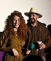 SAN RAFAEL, CA - OCTOBER 09: Director Alma Har'el and Shia LaBeouf are seen onstage during special screening of 'Honey Boy' during the 42nd Mill Valley Film Festival at the Century Larkspur Landing on October 9, 2019 in San Rafael, California. Photo: imageSPACE for the Mill Valley Film Festival/MediaPunch