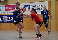 Liv Kornhuber (Walldorf) setzt sich durch - Mörfelden-Walldorf 09.02.2020: TGS Walldorf vs. TGB Darmstadt, Sporthalle