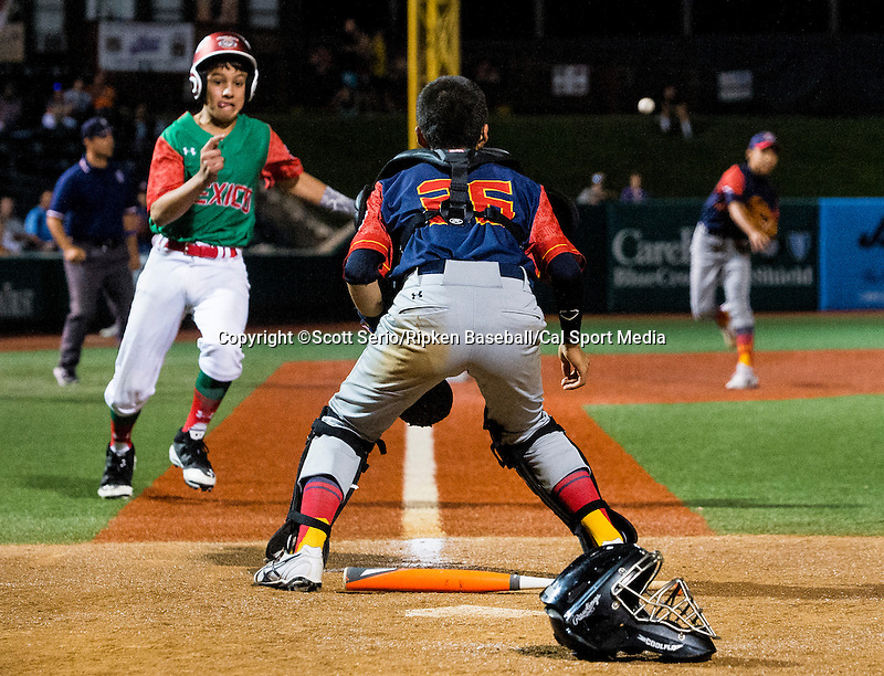 August 15, 2014: Scott Serio/Ripken Baseball/CSM