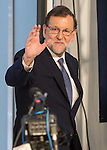Mariano Rajoy, president of Partido Popular, before the four political debate between, the leaders of Ciudadanos, Unidos Podemos, Partido Socialista and Partido Popular, before the elections of july 26 Jun 13,2016. (ALTERPHOTOS/Rodrigo Jimenez)
