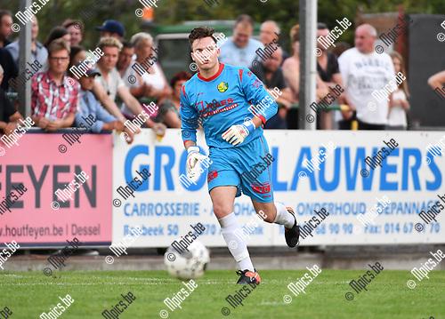 2017-07-19 / Voetbal / Seizoen 2017-2018 / KFC Witgoor Sport / Marijn Gilis<br /> <br /> ,Foto: Mpics.be