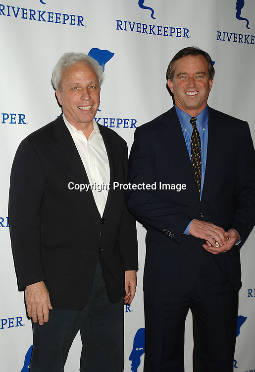 Mark Green and Robert F Kennedy, Jr..arriving at The Riverkeeper Gala honoring the Hearst Corporation on April 19, 2007 at Pier Sixty at Chelsea Piers. ..in New York City,..Robin Platzer, Twin Images
