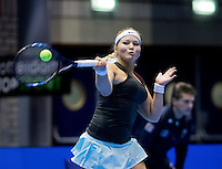 Rotterdam, Netherlands, December 14, 2016, Topsportcentrum, Lotto NK Tennis,  Gabriela van de Graaf  (NED) <br /> Photo: Tennisimages/Henk Koster