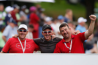Enjoying themselves during the final round of the SA Open, Randpark Golf Club, Johannesburg, Gauteng, South Africa. 8/12/18<br /> Picture: Golffile | Tyrone Winfield<br /> <br /> <br /> All photo usage must carry mandatory copyright credit (© Golffile | Tyrone Winfield)