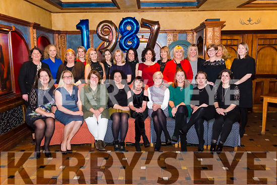St Brigids Secondary School Class of 1987 30 years reunion in the Avenue Hotel, Killarney last Wednesday night.