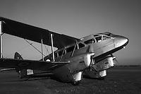 De Havilland DH98A Dragon Rapide 1930 executive air transport.