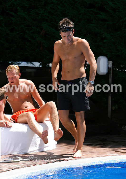 **ALL ROUND EXCLUSIVE PICTURES FROM SOLARPIX.COM**                                             **WORLDWIDE SYNDICATION RIGHTS**     .MUST MENTION SISU BOUTIQUE HOTEL                                                                             Towie Mark Wright  enjoying the sun on the build-up to the Pool Party this Friday at the SISU BOUTIQUE HOTEL in Marbella.  Mark has recently been to a boot camp and is now looking very toned up.                                                                 This pic:      Mark Wright                                                                                         JOB REF:     13881   AB1SF       DATE:   28.08.11                                                         **MUST CREDIT SOLARPIX.COM OR DOUBLE FEE WILL BE CHARGED**                                                                      **MUST AGREE FEE BEFORE ONLINE USAGE**                               **CALL US ON: +34 952 811 768 or LOW RATE FROM UK 0844 617 7637**