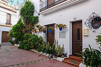 Old Town, Estepona, Malaga Province, Spain, 201810085219<br />