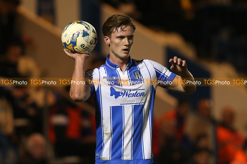 Cameron James of Colchester United during Colchester United vs Mansfield Town, Sky Bet EFL League 2 Football at the Weston Homes Community Stadium on 14th March 2017
