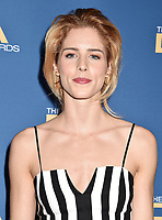 HOLLYWOOD, CA - FEBRUARY 02: Emily Bett Rickards attends the 71st Annual Directors Guild Of America Awards at The Ray Dolby Ballroom at Hollywood &amp; Highland Center on February 02, 2019 in Hollywood, California.<br /> CAP/ROT/TM<br /> &copy;TM/ROT/Capital Pictures