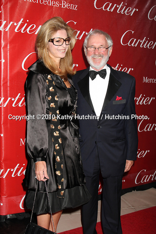Norman Jewison & guest.arriving at the 2010 Palm Springs Film Festival Awards Gala.Palm Springs Convention Center.January 5, 2010.©2010 Kathy Hutchins / Hutchins Photo.