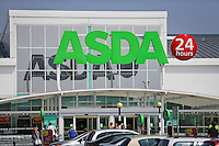 ASDA supermarket - shop entrance