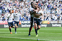 Bolton Wanderers' Aaron Wilbraham scoring his side's third goal <br /> <br /> Photographer Andrew Kearns/CameraSport<br /> <br /> The EFL Sky Bet Championship - Bolton Wanderers v Nottingham Forest - Sunday 6th May 2018 - Macron Stadium - Bolton<br /> <br /> World Copyright &copy; 2018 CameraSport. All rights reserved. 43 Linden Ave. Countesthorpe. Leicester. England. LE8 5PG - Tel: +44 (0) 116 277 4147 - admin@camerasport.com - www.camerasport.com