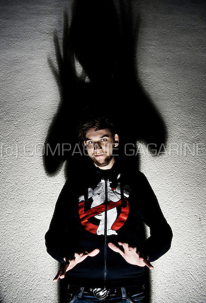 Flemish stand-up comedian Xander De Rycke (Belgium, 04/02/2011)