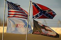 12-13 February, 2016, Daytona Beach, Florida, USA<br /> Infield flags<br /> ©2016, F. Peirce Williams