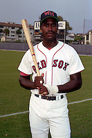 Winter Haven Red Sox Boo Moore poses for a photo circa 1990 at Chain of Lakes Park in Winter Haven, Florida.  (MJA/Four Seam Images)