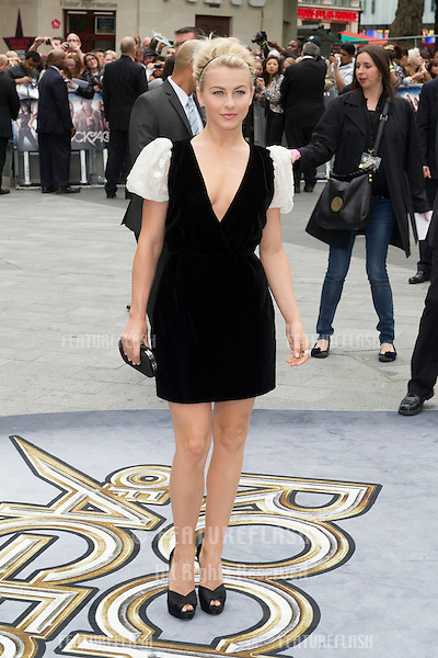 Julianne Hough arriving for the Rock Of Ages Premiere, Odeon Leicester Square, London. 10/06/2012 Picture by: Simon Burchell / Featureflash
