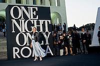 Roma, 5 Giugno, 2013. Isabella Ferrari al 'One Night Only' Roma organizzato da Giorgio Armani al Palazzo della Civilta Italiana.