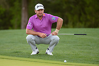 Graeme McDowell (NIR) looks over his putt on 10 during day 2 of the Valero Texas Open, at the TPC San Antonio Oaks Course, San Antonio, Texas, USA. 4/5/2019.<br /> Picture: Golffile | Ken Murray<br /> <br /> <br /> All photo usage must carry mandatory copyright credit (© Golffile | Ken Murray)