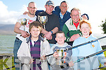 SEA ANGLING WINNERS: The Winners of the Tralee Bay Sea Angling Club, Competition held at The Spa, with the awards presentation held at the Oyster Tavern and Sea Food restaurant on Sunday front l-r: Juniors, Tim Dennehy, Fenit, (3rd), Luke O'Sullivan, Caherslee, (1st) and Jenifer Law, Fenit, (2nd). Back l-r: Seniors, Lenore Foley, Abbeydorney, (3rd), Eugene Farrelly, Fenit, (1st), Phil Ord, The Spa, (2nd) and Connor Dwyer winner of the longest fish award.   Copyright Kerry's Eye 2008