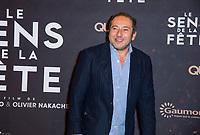 PATRICK TIMSIT - PREMIERE DU FILM 'SENS DE LA FETE' AU GRAND REX A PARIS, 26 SEPTEMBRE 2017