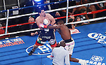 luis Ortiz Gano por Ko en el 3 asalto una pelea pactada a 12 asaltos, se corono campeon interino de los pesados al derrotar a Matias Ariel Vidondo en elMadison Square Garden de New York