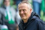 13.04.2019, Weser Stadion, Bremen, GER, 1.FBL, Werder Bremen vs SC Freiburg, <br /> <br /> DFL REGULATIONS PROHIBIT ANY USE OF PHOTOGRAPHS AS IMAGE SEQUENCES AND/OR QUASI-VIDEO.<br /> <br />  im Bild<br /> Christian Streich (Trainer SC Freiburg)<br /> Gestik, Mimik,<br /> <br /> <br /> Foto &copy; nordphoto / Kokenge