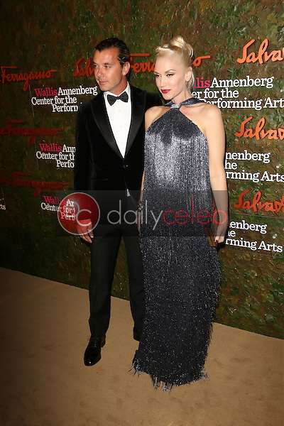 Gwen Stefani, Gavin Rossdale<br /> at the Wallis Annenberg Center For The Performing Arts Inaugural Gala, Wallis Annenberg Center For The Performing Arts, Beverly Hills, CA 10-17-13<br /> David Edwards/DailyCeleb.Com 818-249-4998