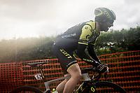 Michael Albasini (SUI/Mitchelton-Scott) up the Côte de La Redoute<br /> <br /> 105th Liège-Bastogne-Liège 2019 (1.UWT)<br /> One day race from Liège to Liège (256km)<br /> <br /> ©kramon